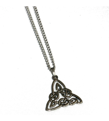 Celtic Trinity Knot Pendant on Chain
