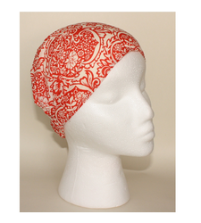 Red Cream Flowers Adjustable Headband by River Island