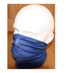 Neck Tube Snood Scarf Face Cover Plain ROYAL Blue