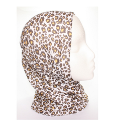 Leopard Print Neck Tube Snood Scarf
