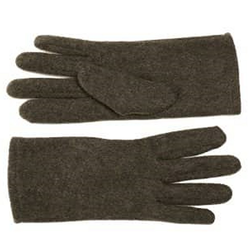 Ladies Felt Fleece Gloves Grey