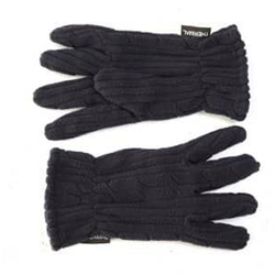 Ladies Thermal Fleece Gloves Blue