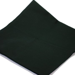Large plain Black bandana headscarf 27 inch 100% cotton SECONDS